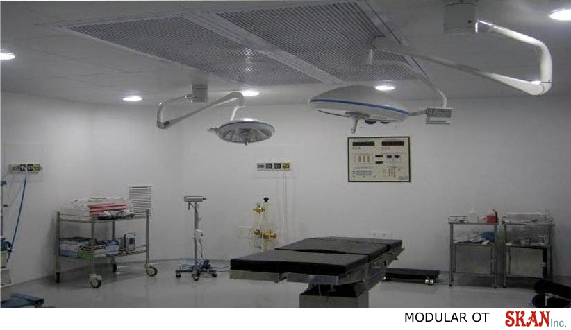 Modular Operation Theater Manufacturers Exporters
